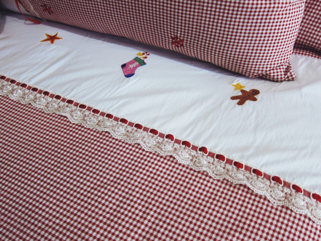 Christmas Bed Sheet