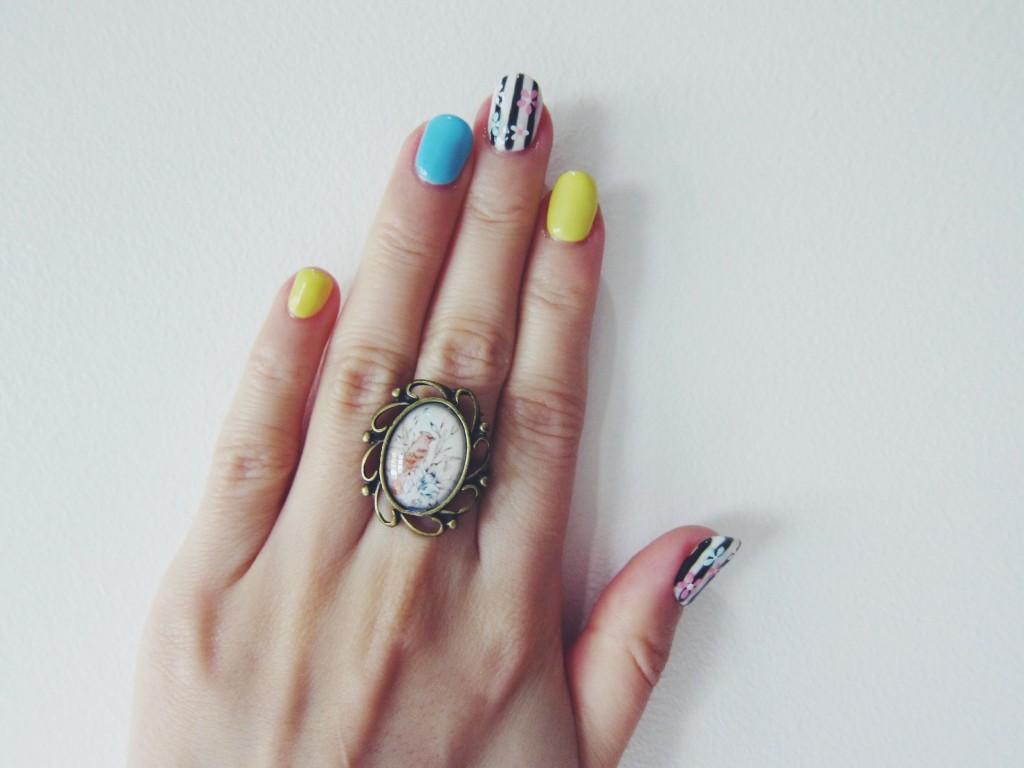 CNY Vintage Nails