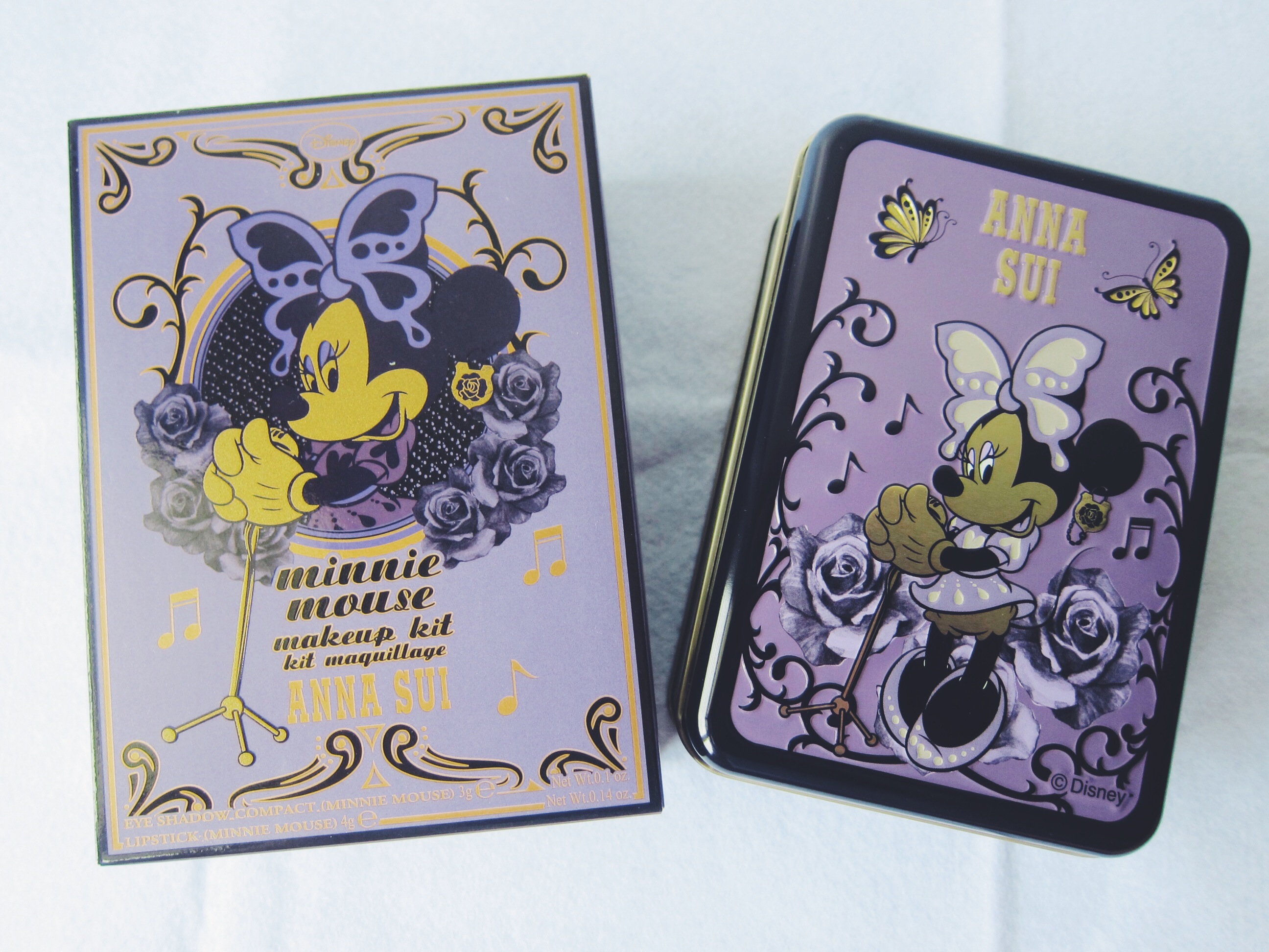 To acquire Minnie sui Anna mouse makeup collection picture trends