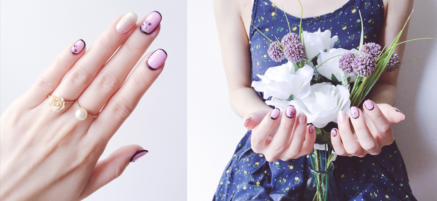 CNY Nails: Elegant Nail Art