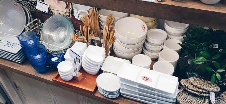CHEAP zakka & craft materials in Japan